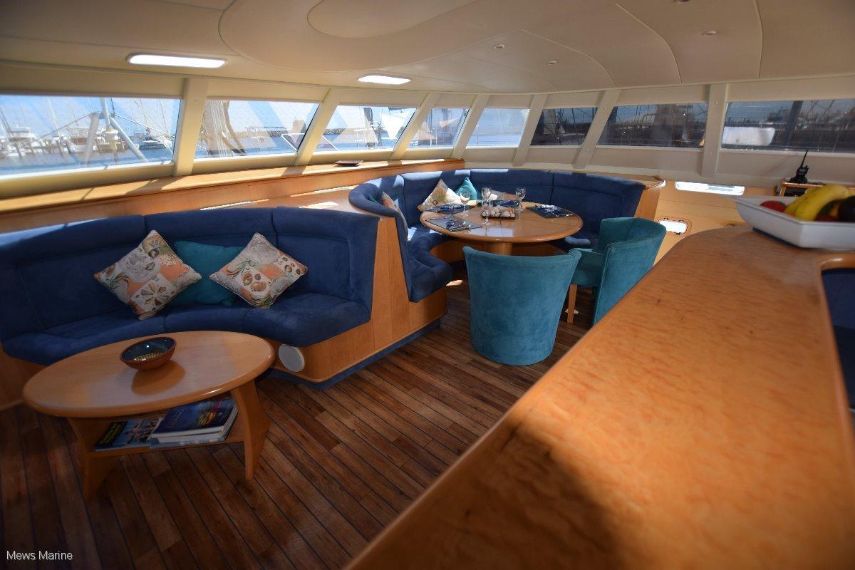 Crowther Sailing Catamaran Fast Sail and Power