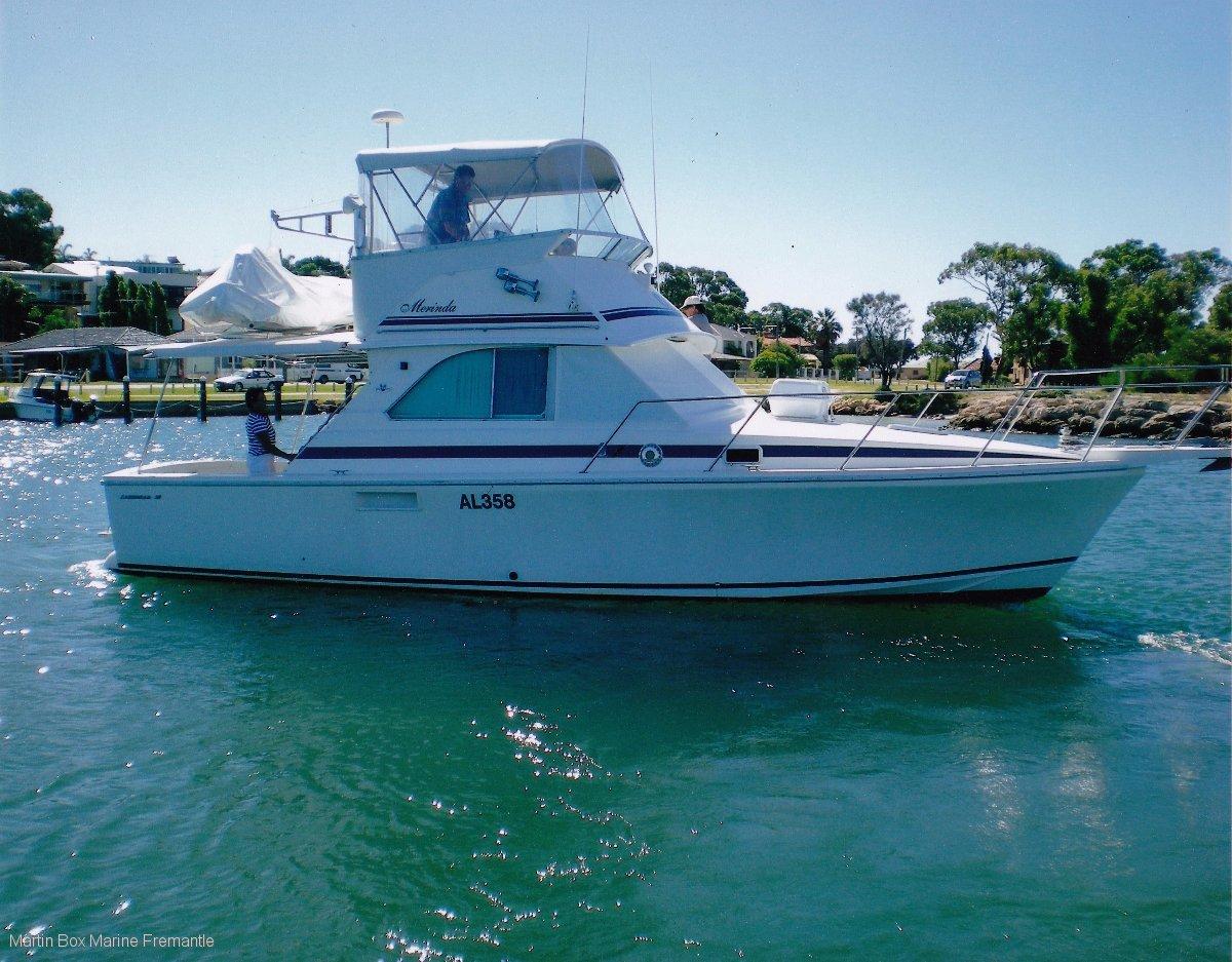 Caribbean 35 Flybridge Cruiser (1995)