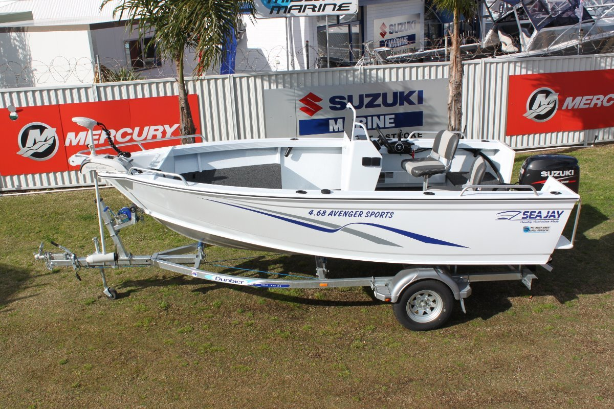 Sea Jay 468 Avenger Sports side console