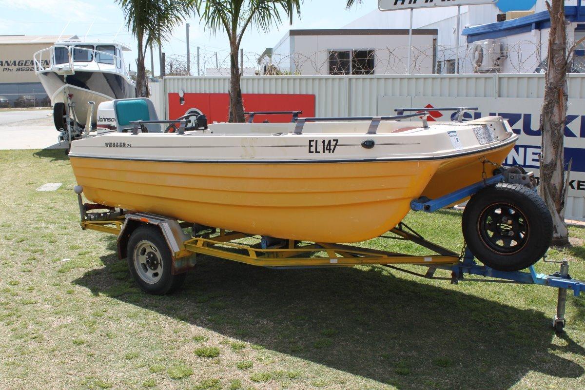 Aussie Whaler 3.8 Side Console
