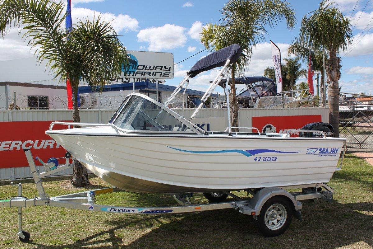 Sea Jay 4.20 Seeker Runabout