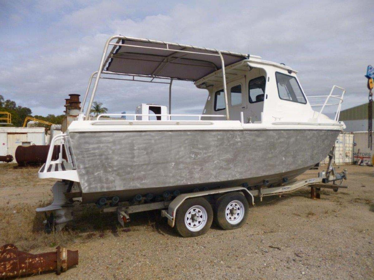 7.5m Aluminium Workboat / CTV