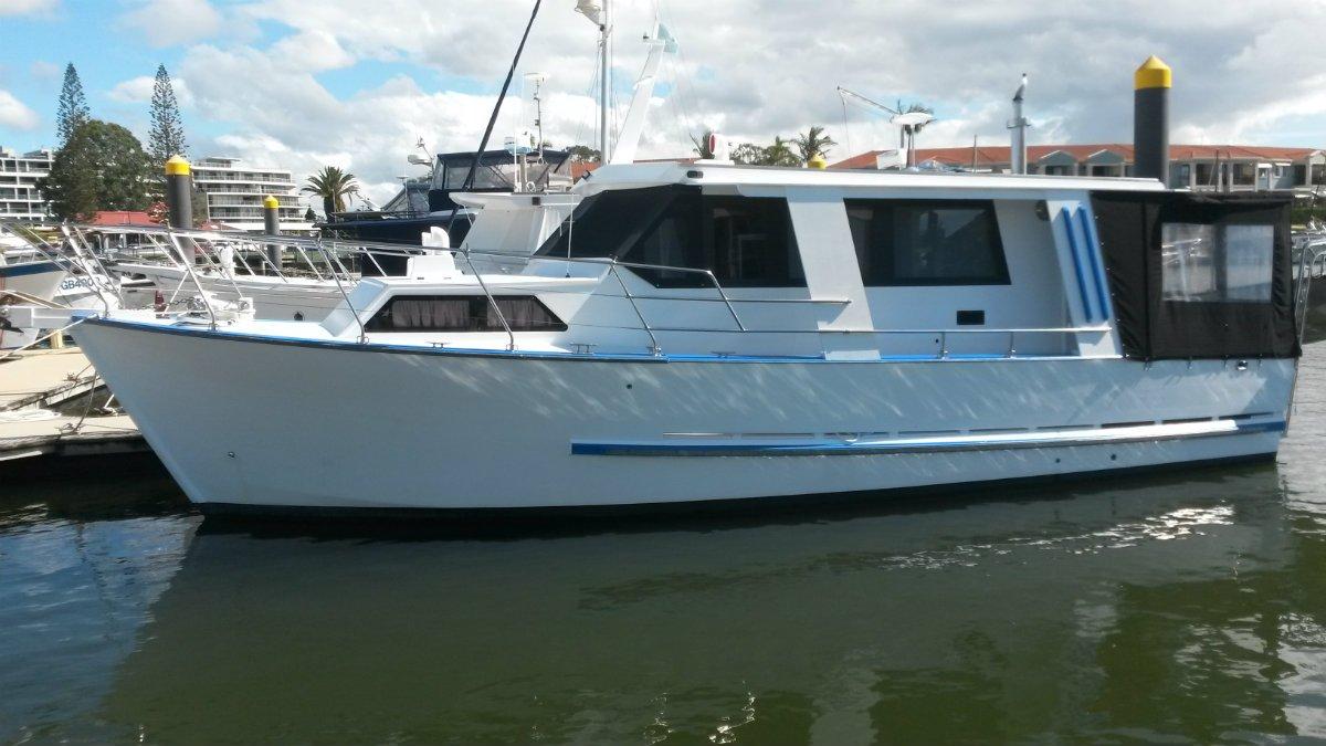 Custom Coastal Cruiser 35 Ft