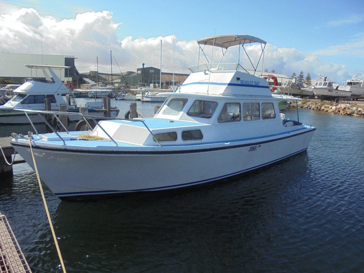 Northshore 37 Fibreglass Cabin Cruiser
