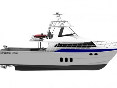 New Saltwater Commercial Boats 18.5m Expedition Cruiser