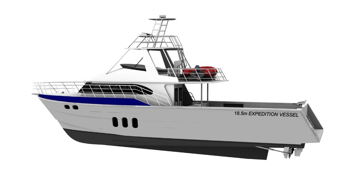 Saltwater Commercial Boats 18.5m Expedition Cruiser