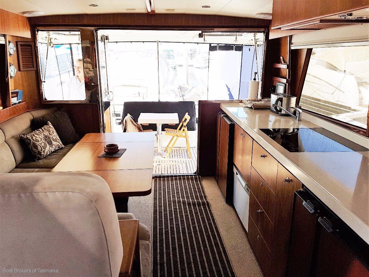 Alaska 46 Sedan Generation 2. Sold new in June 2012