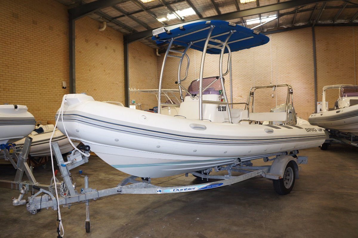 Brig Navigator 570 Rigid inflatable tender