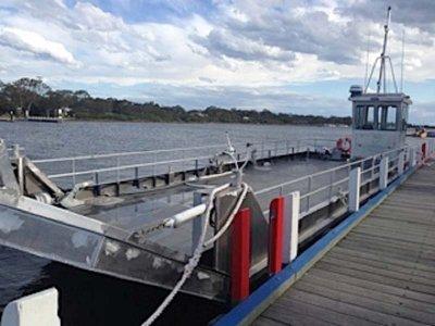 15m x 4.6m Vehicle / Work Barge