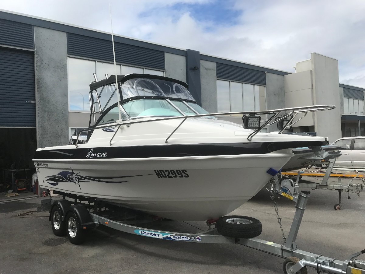 Haines Hunter 595 Offshore Price Reduction, Vendor says submit all offers