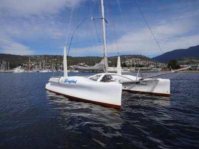 "Chamberlain 9m Catamaran ""Slingshot"""