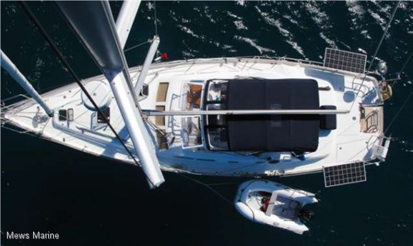Beneteau 42cc Oceanis Centre Cockpit Masthead Cutter