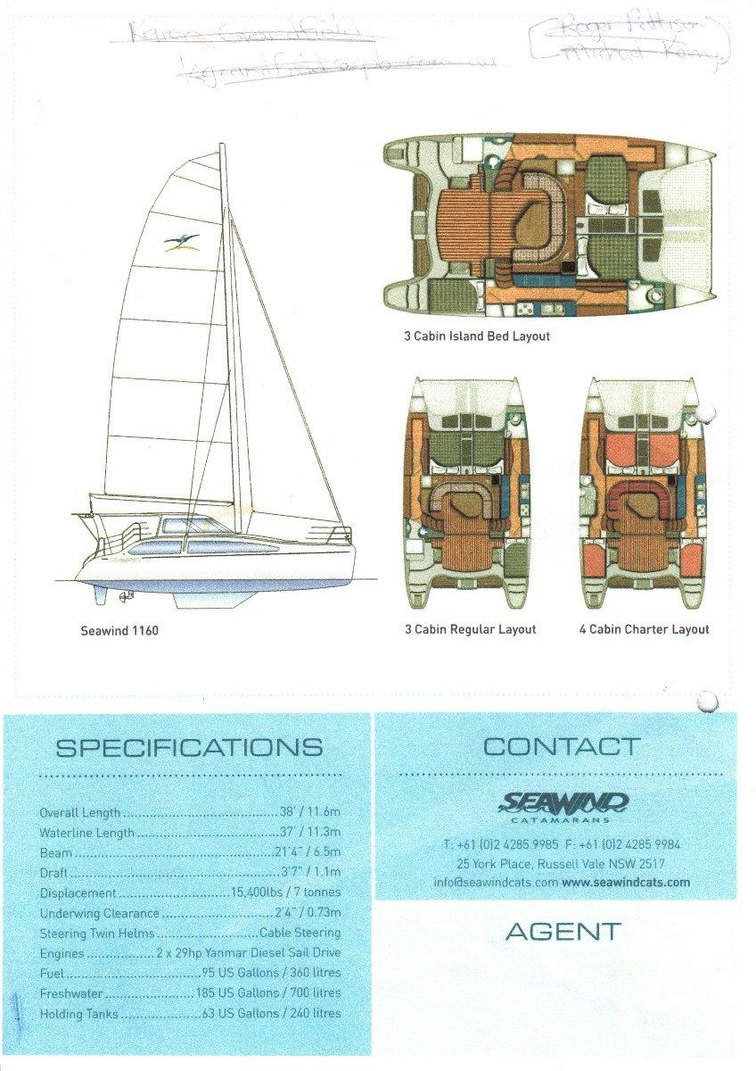 Seawind 1160:Seawind brochure