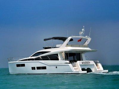 Hudson 48 Power Catamaran