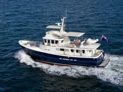 Watson 60 Steel Long Range Motor Yacht- Click for more info...