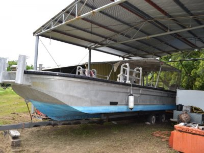Custom HIGH SPEED BARGE / COMMERCIAL WORK BOAT.