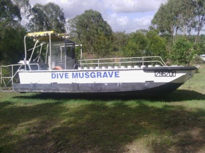 Custom Built Dive Vessel
