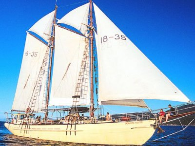 Gaff Rigged Topsail Schooner- Click for more info...
