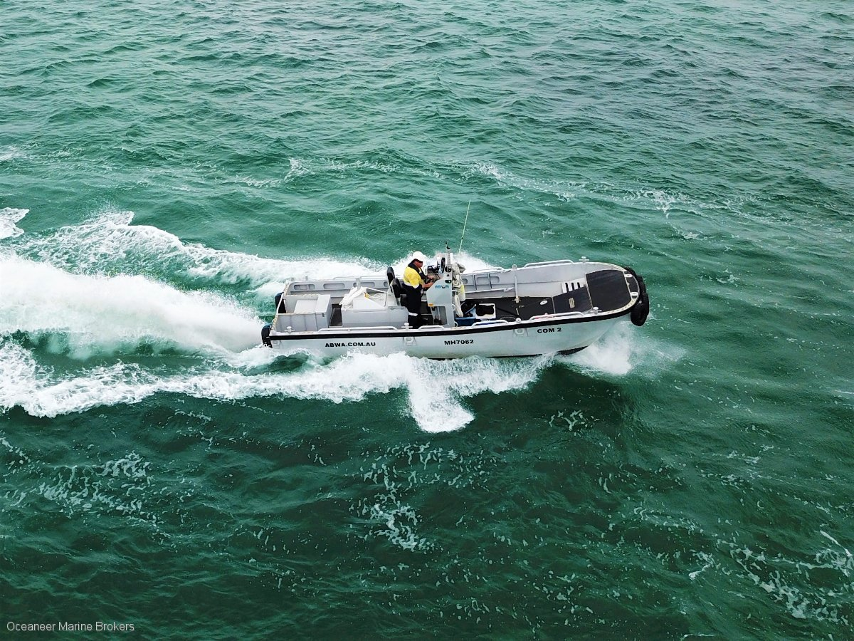 SN 1088-a Southerly Work Boat - Used & New Commercial Boats for Sale In WA, Australia - Oceaneer ...