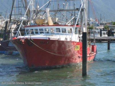 Steel Prawn Trawler With Licence