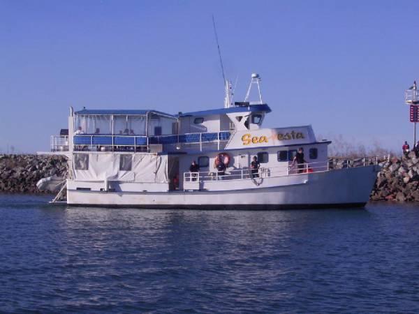 Steel Dive Charter Vessel