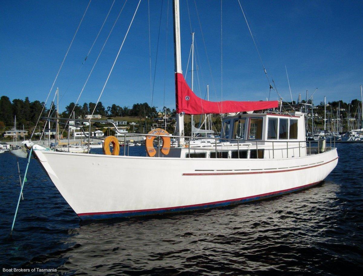 31417 - Tasmanian 36' Motorsailer ONLY $35,000