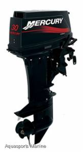 NEW MERCURY 30HP MANUAL HANDLE 2 STROKE OUTBOARD MOTOR