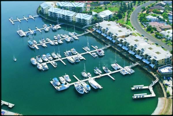 MARINA BERTH FOR SALE - 15m Mono Raby Bay Marina B22