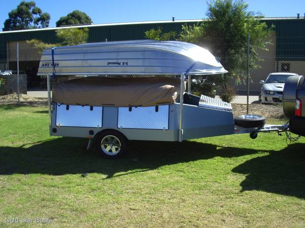 TOW LITE CAMPERS BY GOLD STAR BOATS