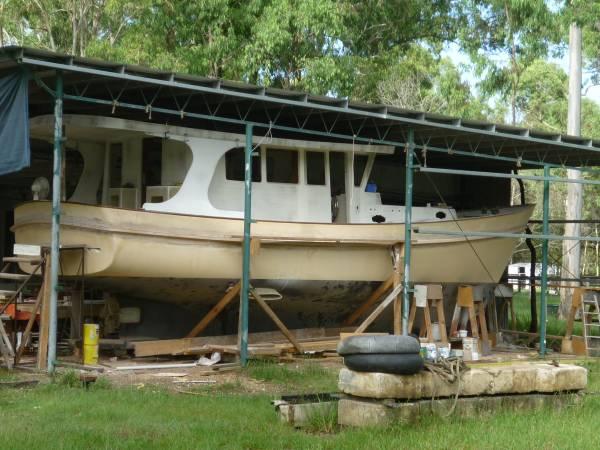 New Stuart 42 FT Tassie Cray Boat Hull