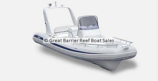 New Grand Silver Line Hypalon Cruiser 5.5m Deluxe