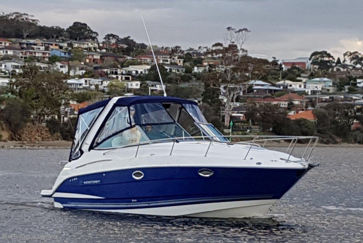 Monterey 290 Cruiser A cut above the rest!