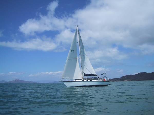 Pugh Steel Yacht