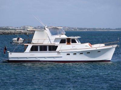Ocean Alexander 55 Motoryacht Long range cruiser, Grand Banks style