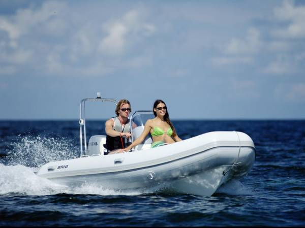 New Brig Falcon 450 Deluxe Rib Rigid Inflatable Boat