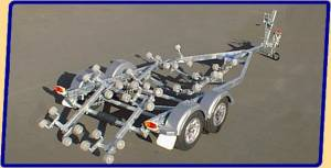 Brooker 22'6'' Boat Trailer Brand New