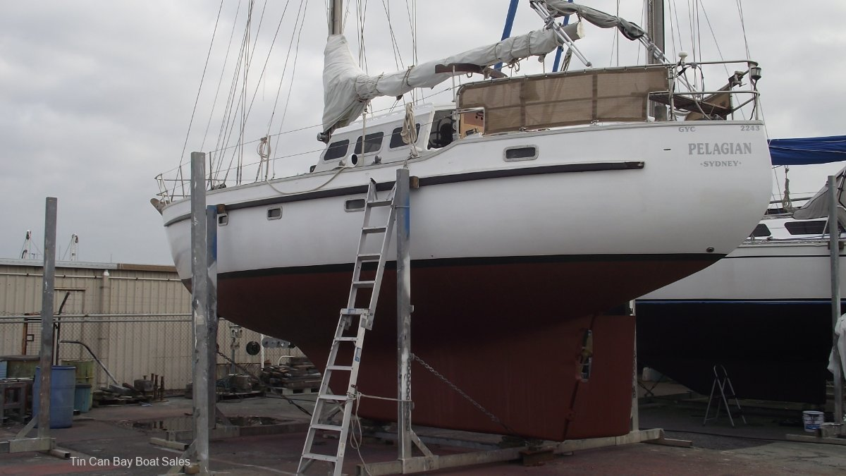 Swanson 42 Sailing Cutter for sale