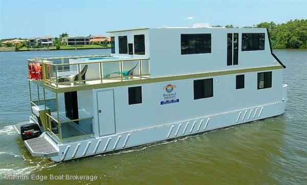 Luxury Custombuilt Charter Houseboat Summer Bargain Price