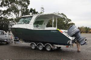 Preston Craft 8m Mirage Tri Hull