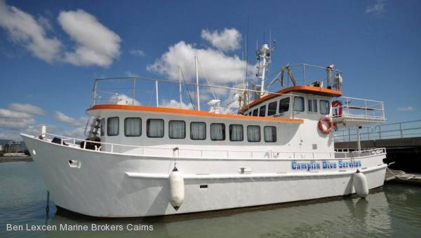 Charter Dive Vessel