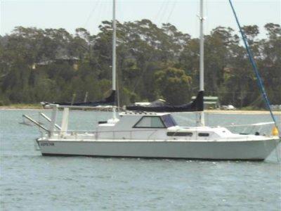 Fury Motorsailer Boat Sold