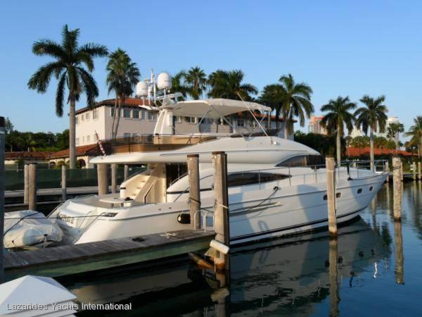 Princess 65 motor yacht
