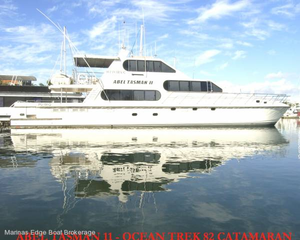 Ocean Trek Flybridge Multi Hull Awesome Price Reduction to $595000