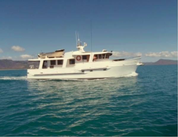 Lindsay Smith Long Range Trawler Pilothouse