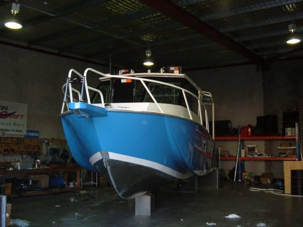 Preston Craft 8m Mirage Tri Hull IB/Diesel
