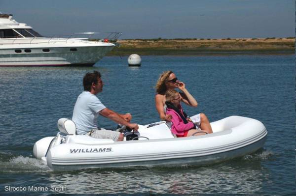 New Williams T285 Jet Tender