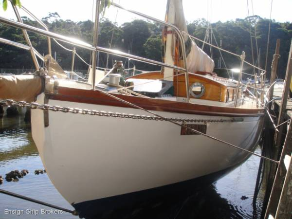 Atkins Double Ender Sloop