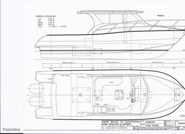 New Razerline 9.3 m Rsv