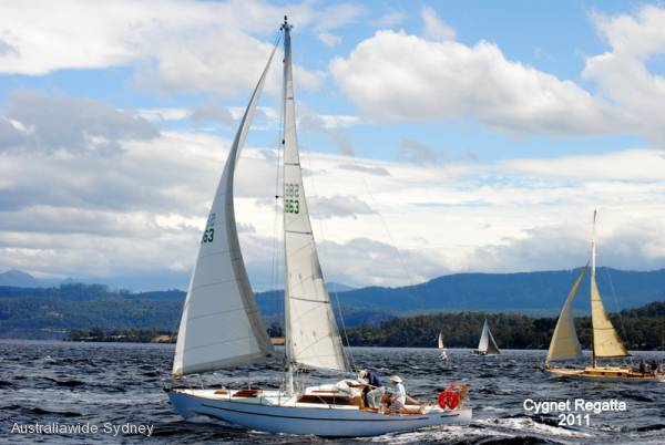 31ft Swanson Carmen Class Timber Yacht