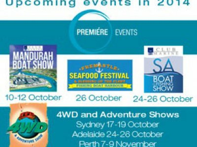 ADELAIDE'S BIG FISHING AND BOATING EVENT IS COMING! 24-26 October